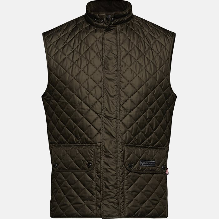 Vests - Slim - Green